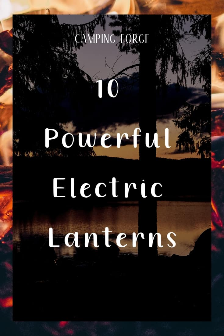 Pinterest image for 10 Powerful Electric Lanterns
