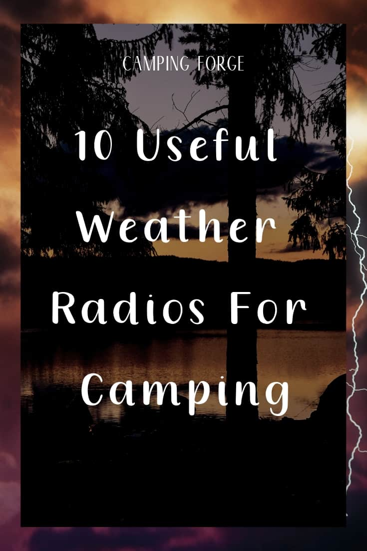 Pinterest image for 10 Useful Weather Radios For Camping