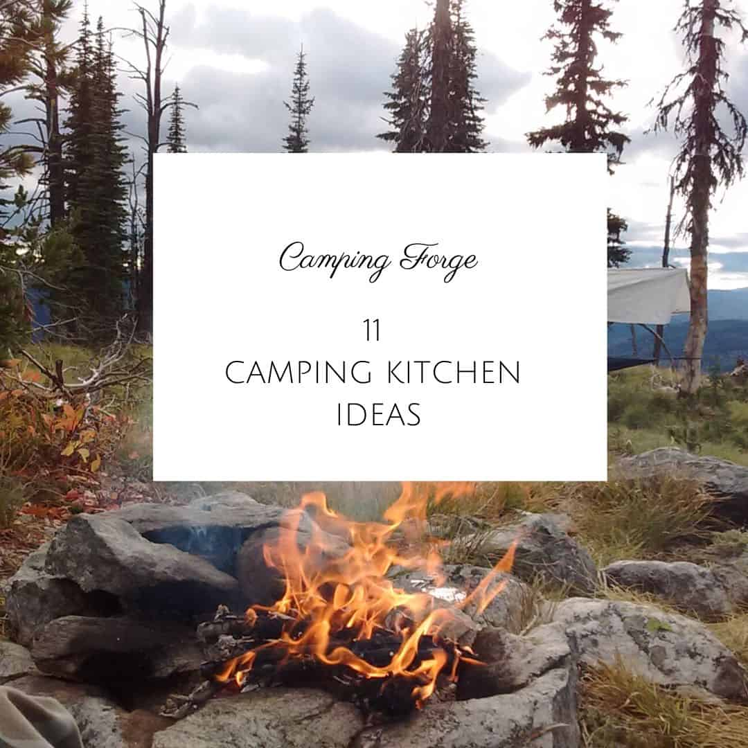 11 Camping Kitchen Ideas