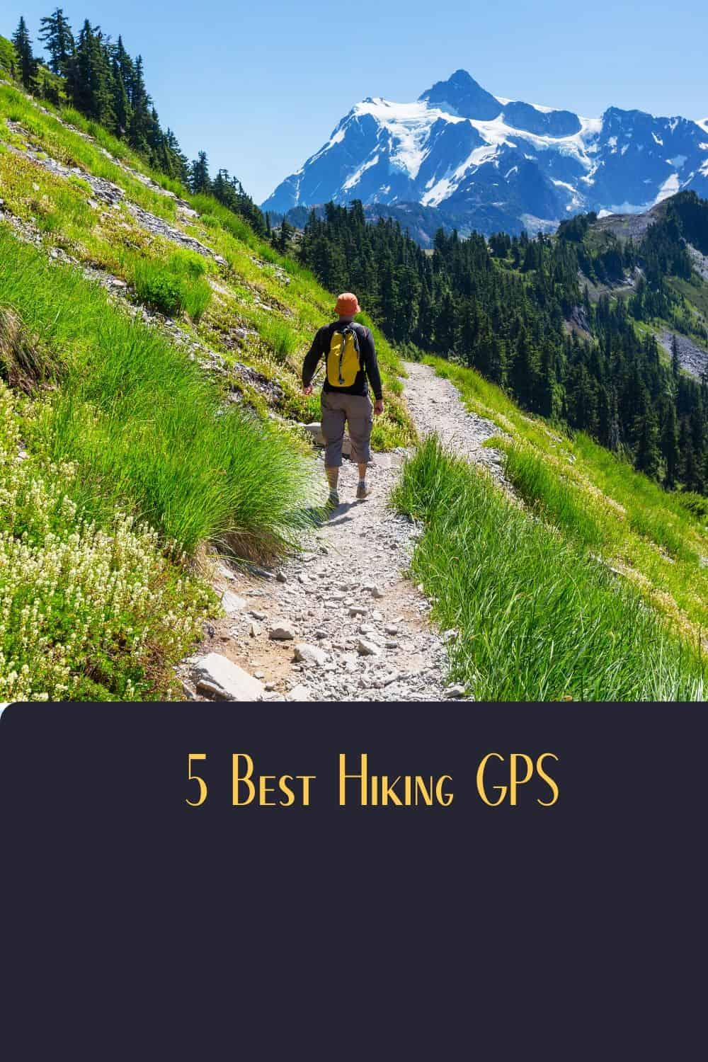 Pinterest image for 5 Best Hiking GPS