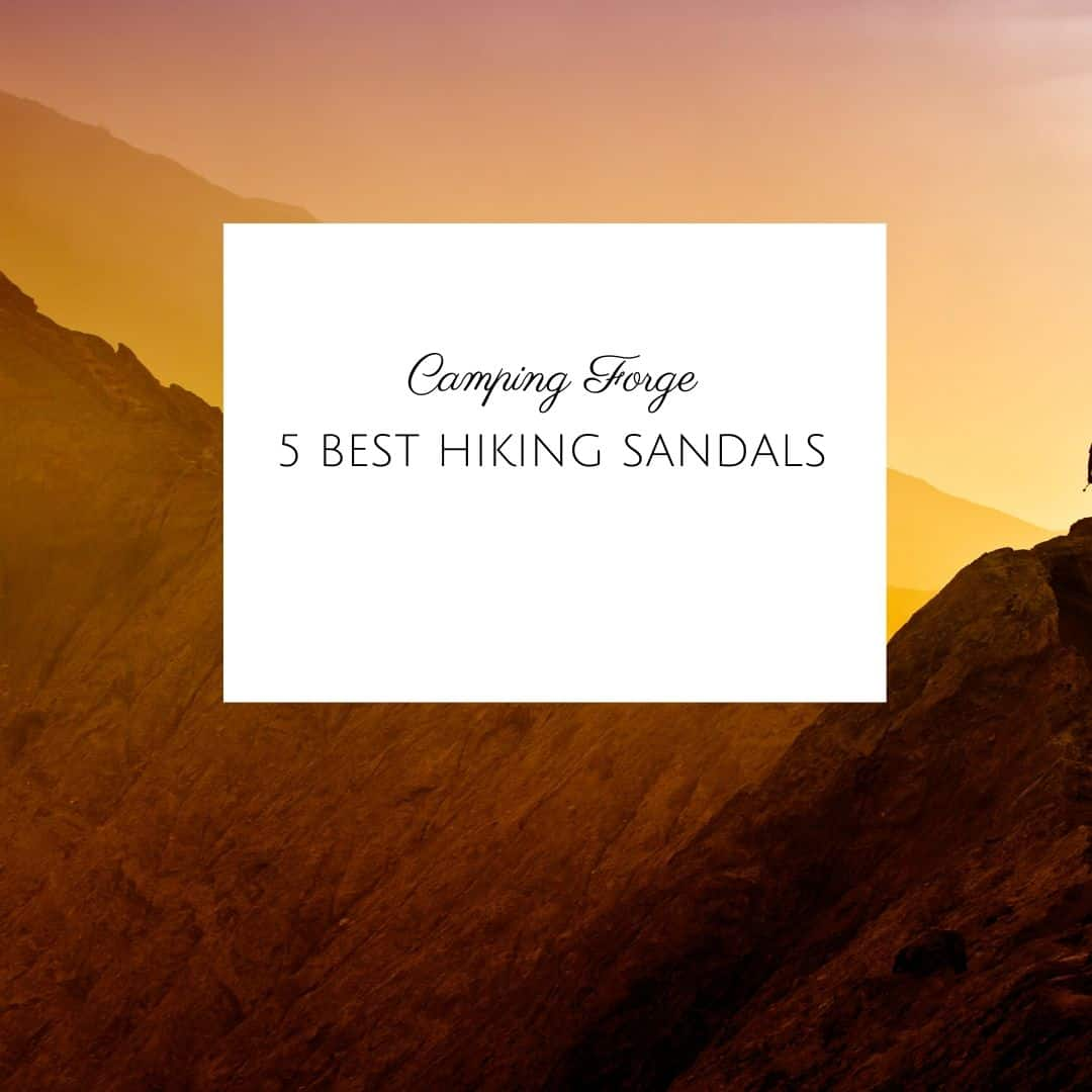 5 Best Hiking Sandals