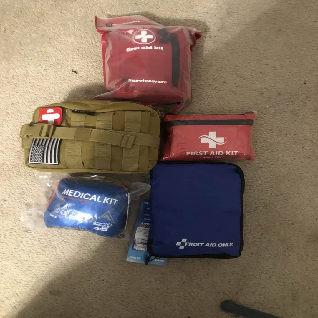 All 5 backpacking First-Aid kits we tested