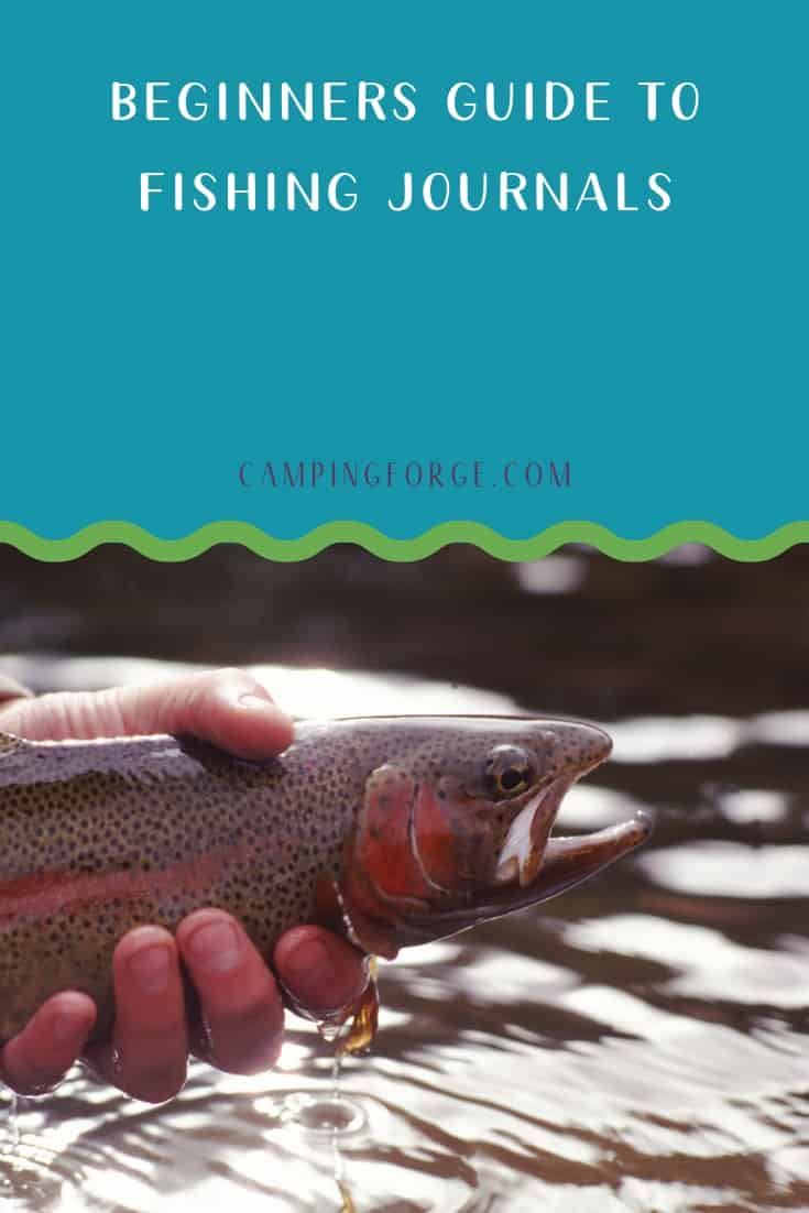 Pinterest image for Beginners Guide To Fishing Journals