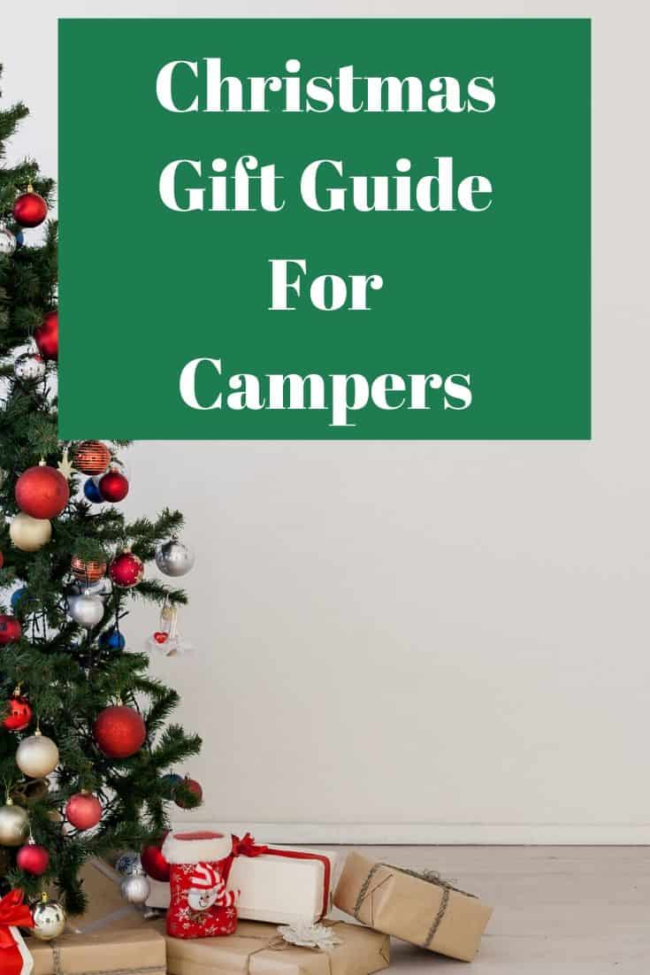 Pinterest image for Christmas Gift Guide For Campers
