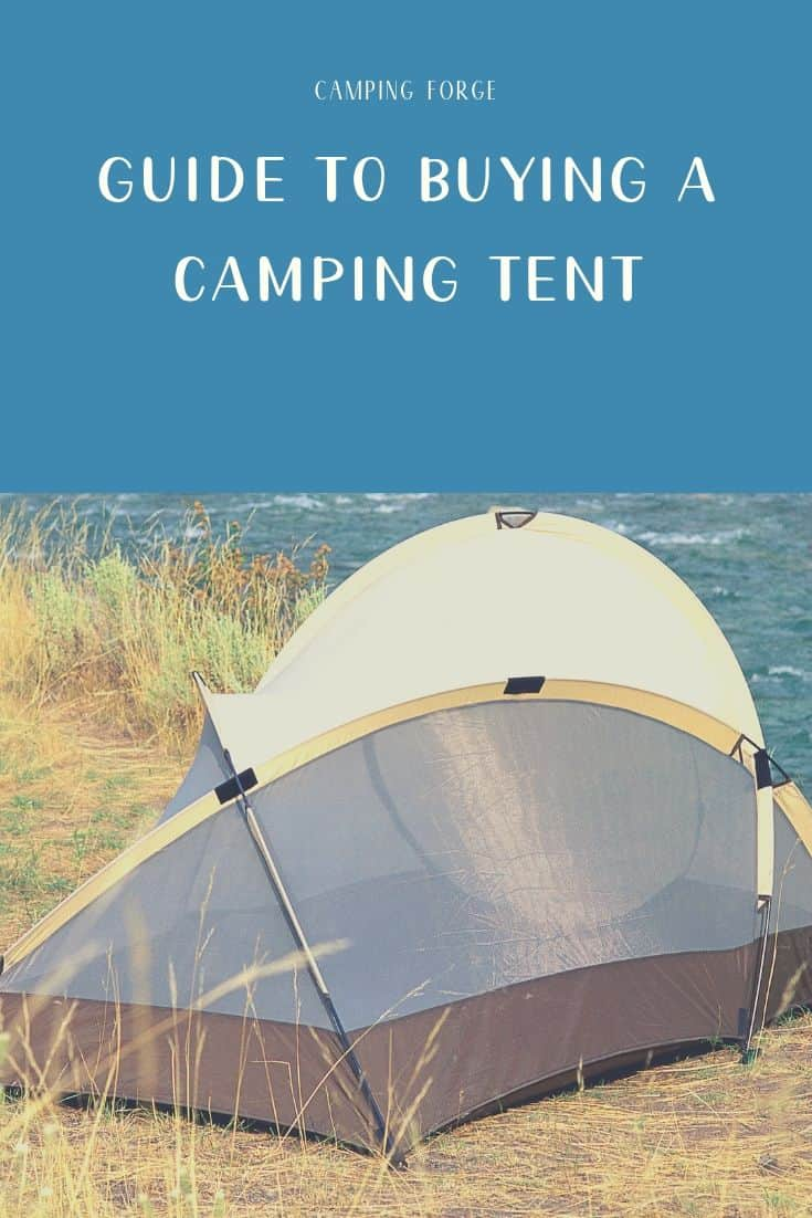 Pinterest image for Guide To Buying A Camping Tent