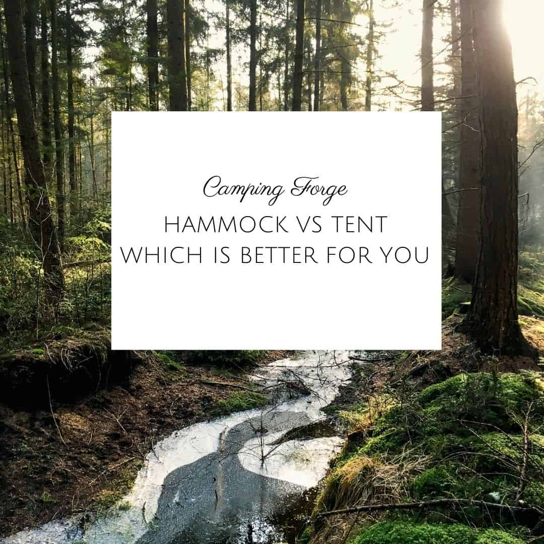 Hammock Vs Tent Which Is Better For You