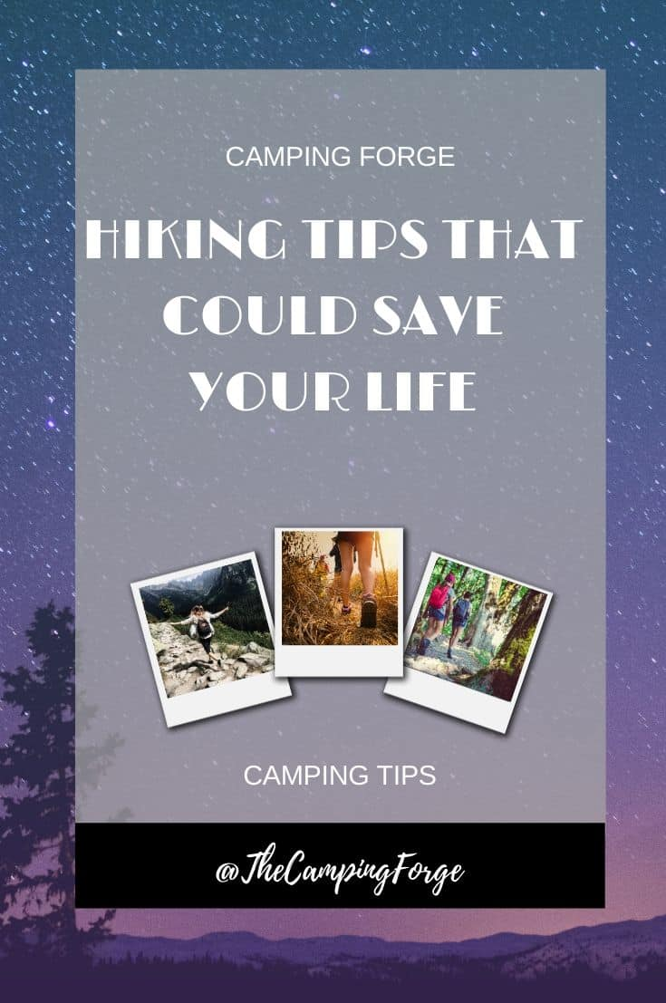 Pinterest image for Hiking Safety Tips That Can Save Your Life