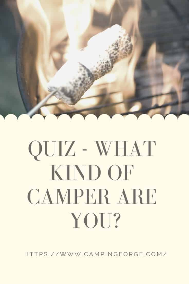 Pinterest image for Quiz - What Kind Of Camper Are You?