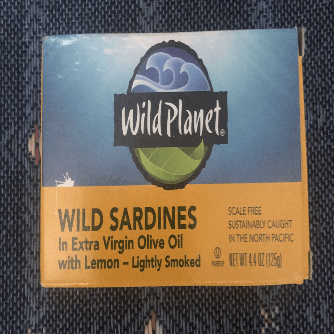 My favorite sardines for camping and hiking