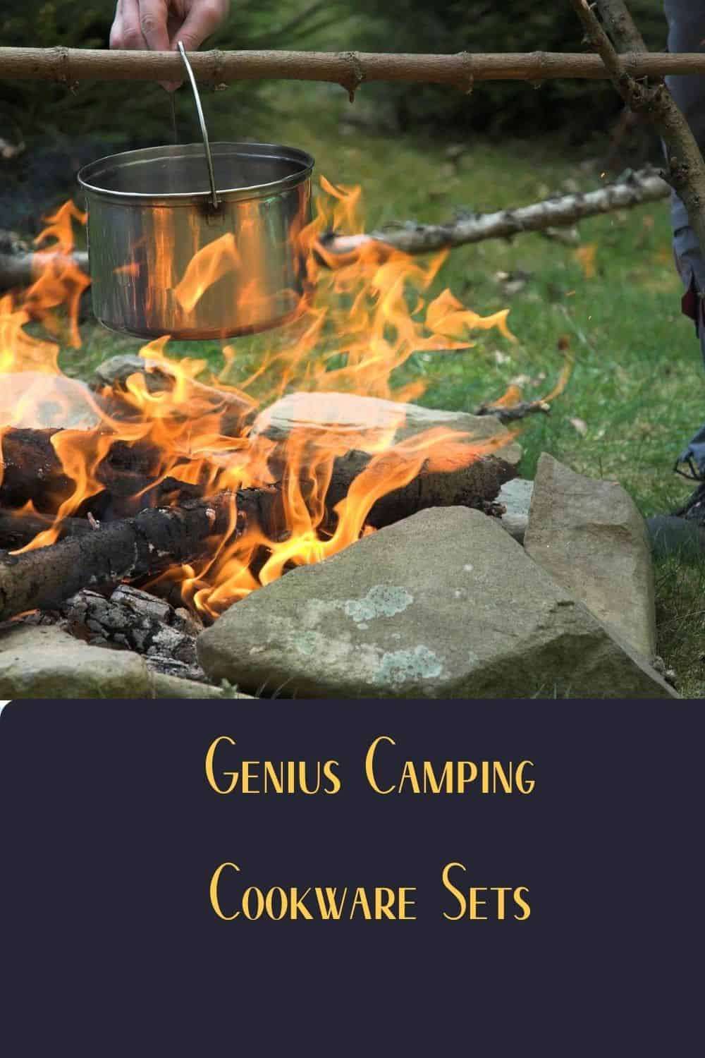 Pinterest image for Your Guide To 5 Of The Best Camping Cookware Sets